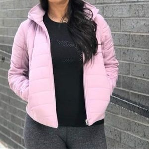 Push your pace jacket lululemon Antoinette pink 10